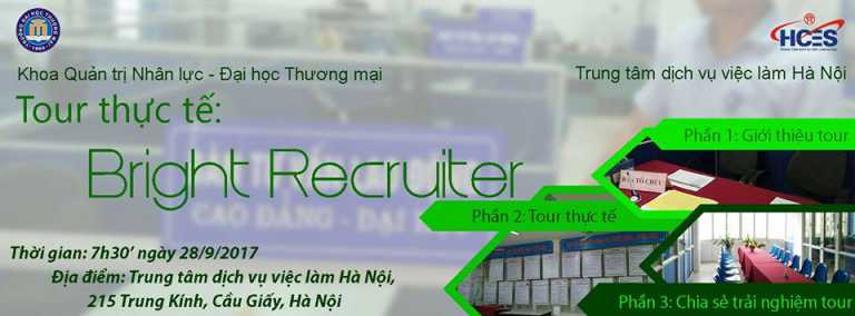 Tour: Bright recruiter